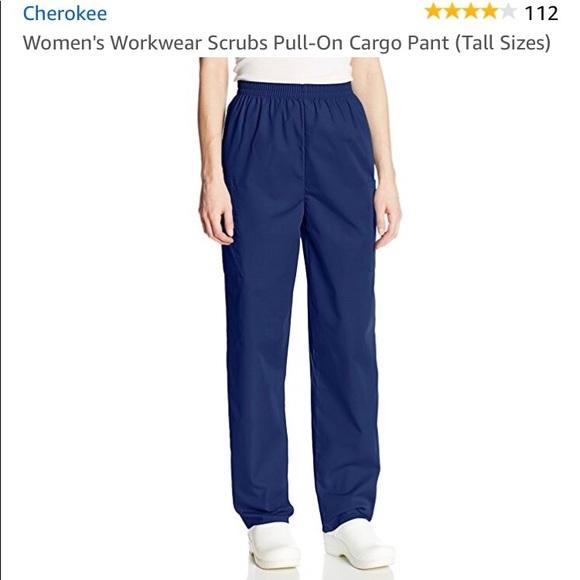 c2528ce735d Cherokee Pants | M Tall Navy Scrub Brand New | Poshmark